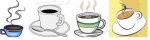 Coffee cup&mug clipart