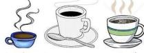 Coffee cup&mug clipart